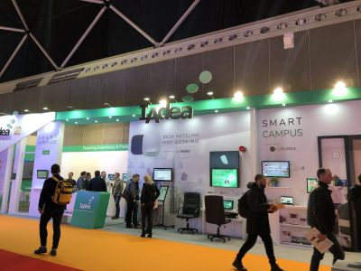 Concierge Displays and iAdea stand at ISE 2020